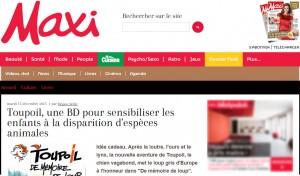 Toupoil dans maximag.fr