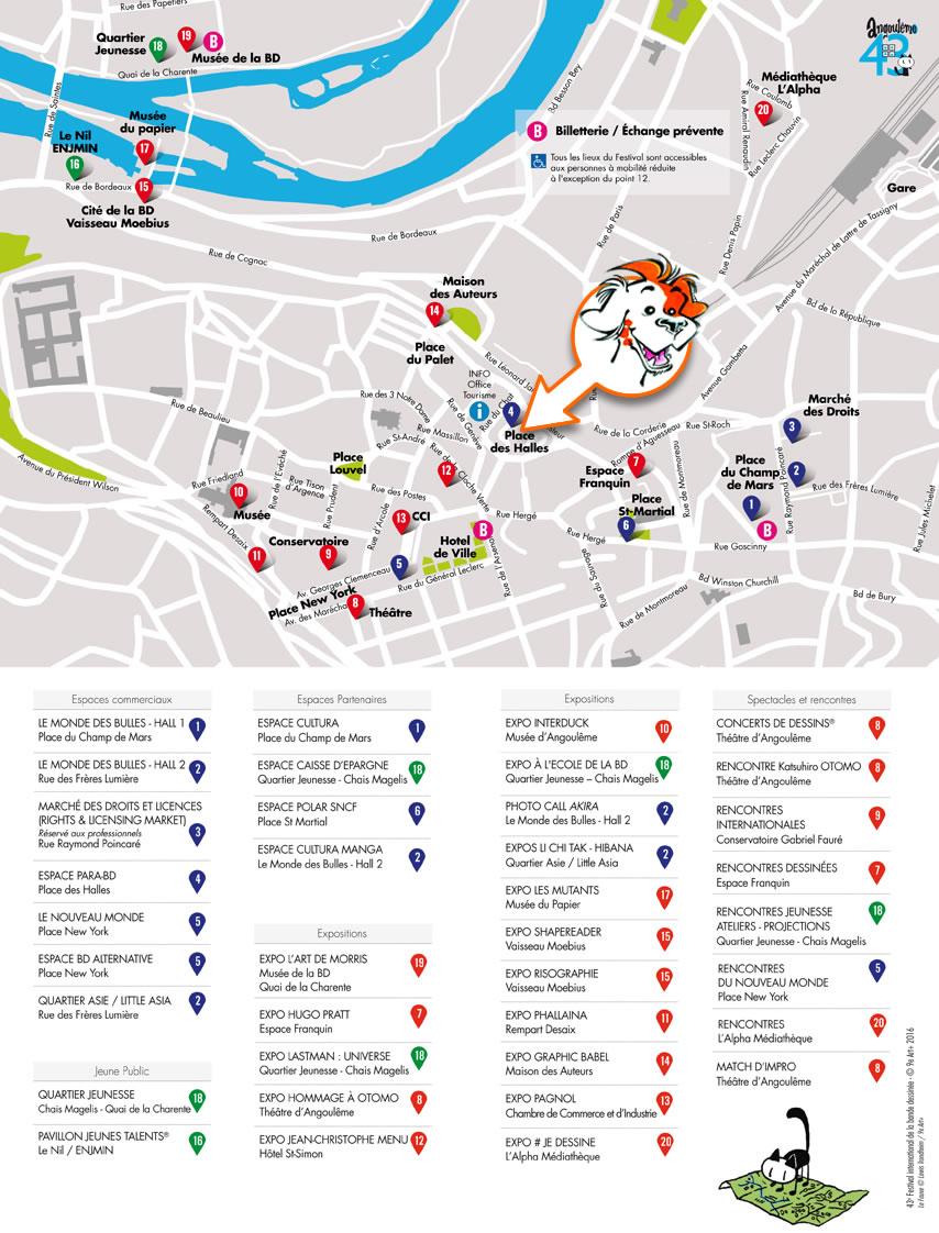 Toupoil au festival BD d'Angoulême
